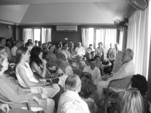 A self inquiry course with Ramji in South India.